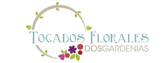 Tocados Florales Dos Gardenias